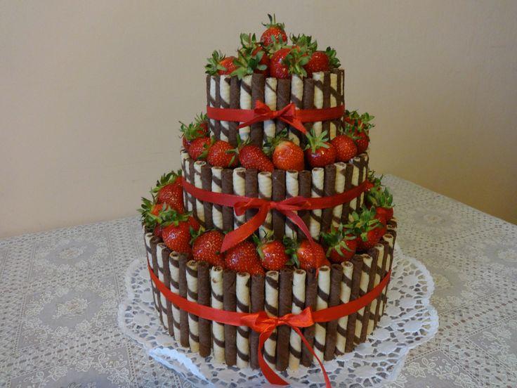 Ovocna torta.