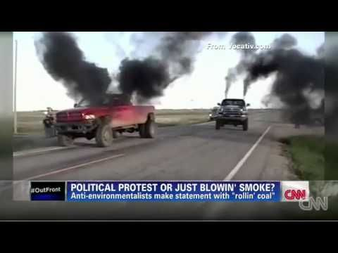 Truck Drivers Smoke Out Cyclists, Priuses