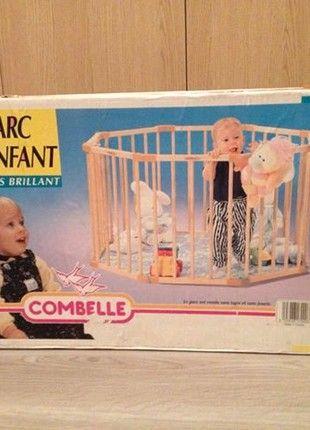 À vendre sur #vintedfrance ! http://www.vinted.fr/mode-enfants/parcs/54575602-parc-en-bois-octogonal-combelle