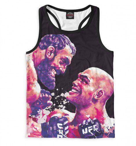 Майка борцовка Print Bar UFC Fight Night 52