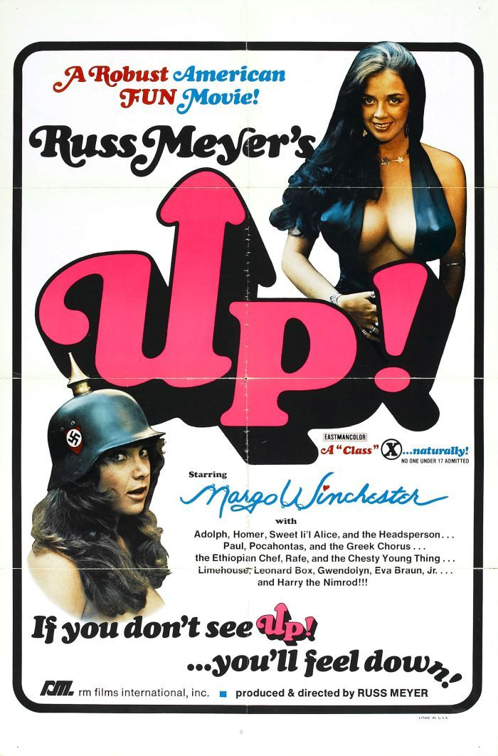 Russ Meyers Up! - https://johnrieber.com/2016/04/17/sex-kitten-uschi-digard-bares-her-toy-box-legendary-russ-meyer-star-hilariously-naked-kentucky-fried-movie-cameo/