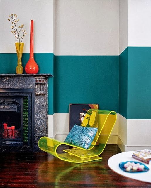 Domino Two Tone Wall Paint