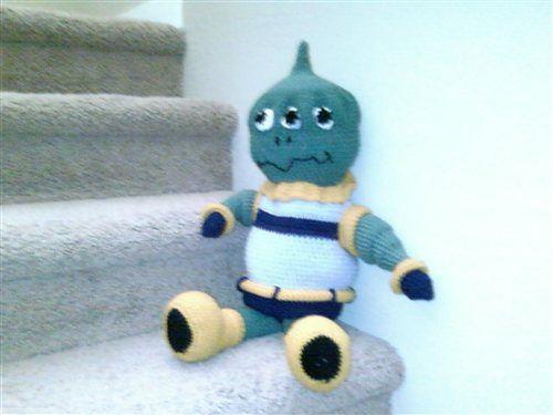 Alien_Crochet_Doll - Crochet MeYarns Plush Adventure, Aliens Crochet Dolls, Amy Lot, Crochet Amigurumi Toys, Crochet Amigurumi