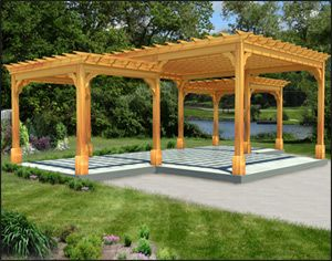 12 Best Images About Pergola Designs On Pinterest Wall