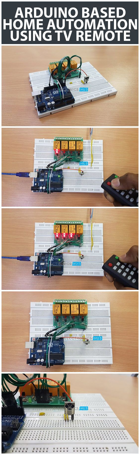 208 Best Smart Home Images On Pinterest Arduino Projects Diy Wiring Hall Effect Sensor Switch Magnet Detector Module 14corecom Based Automation Using Tv Remote Is A Simple Project Where An Old