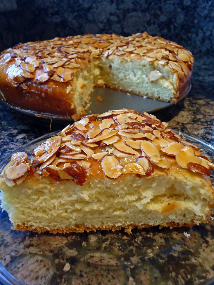 Honey Almond Coffee Cake (use peanuts or coconut for Rosh Hashana, when you can't use almonds)