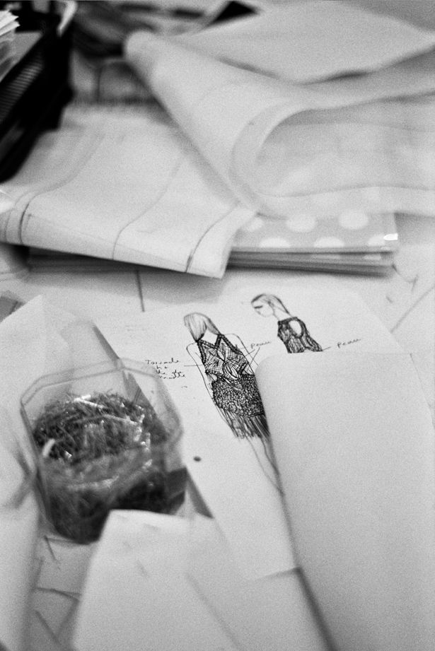 Fashion Design Studio - fashion design sketches; fashion designer's workspace; fashion behind the scenes // Paco Rabanne