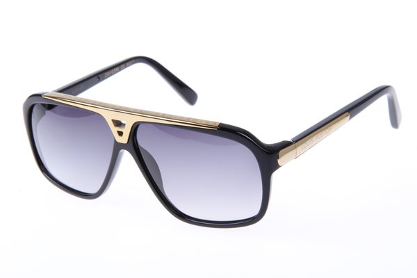 ce6265a7e7 Louis Vuitton Evidence Z0105W A0049 Sunglasses In Black   LV ...