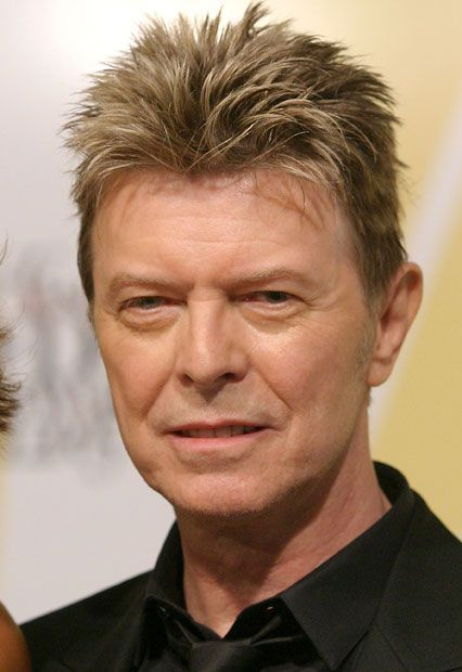 June 2005: David Bowie attends the CFDA Awards in New York