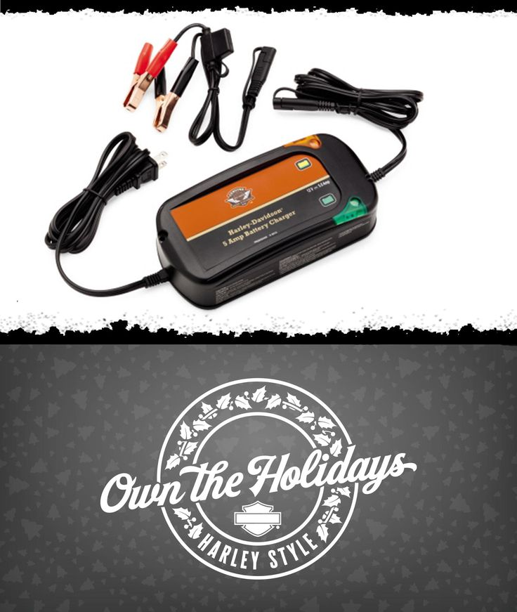 Professional charging performance in a compact package. | Harley-Davidson 5 Amp Weather-Resistant Battery Tender Charger