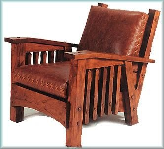 Arts And Crafts Style Club Chair Part 23