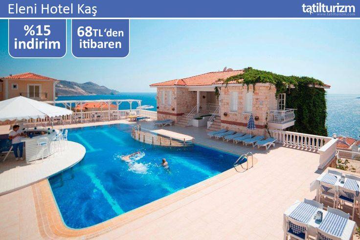 Tatilin kalbi Eleni Hotel Kaş'ta atıyor. Lüks, konfor ve kusursuz hizmet ile kendinizi huzura bırakın.