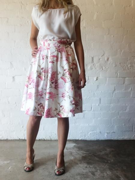 Magnolia Pleated Skirt by FOUND. Collection www.foundcollection.co.za Proudly designed and made in South Africa