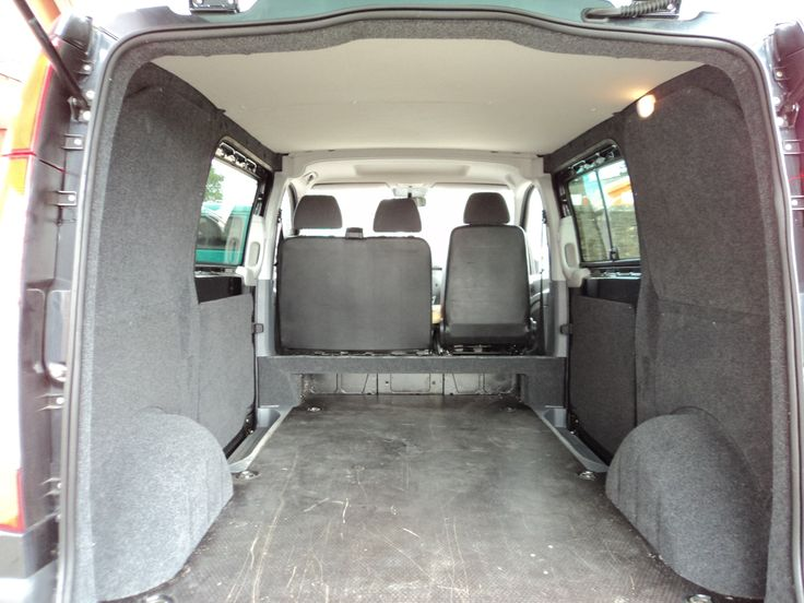 Campervans For Sale >> An example of carpeting the inside | Mercedes camper ...