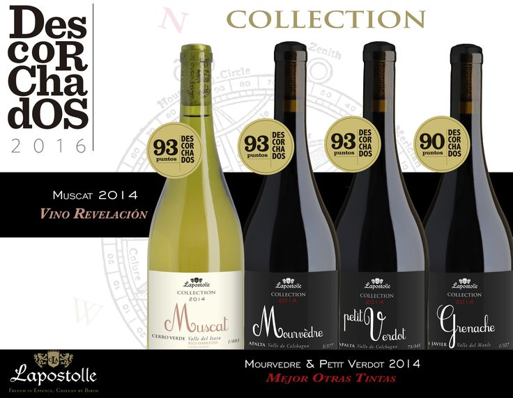Very good results for our Lapostolle Collection in Descorchados 2016!