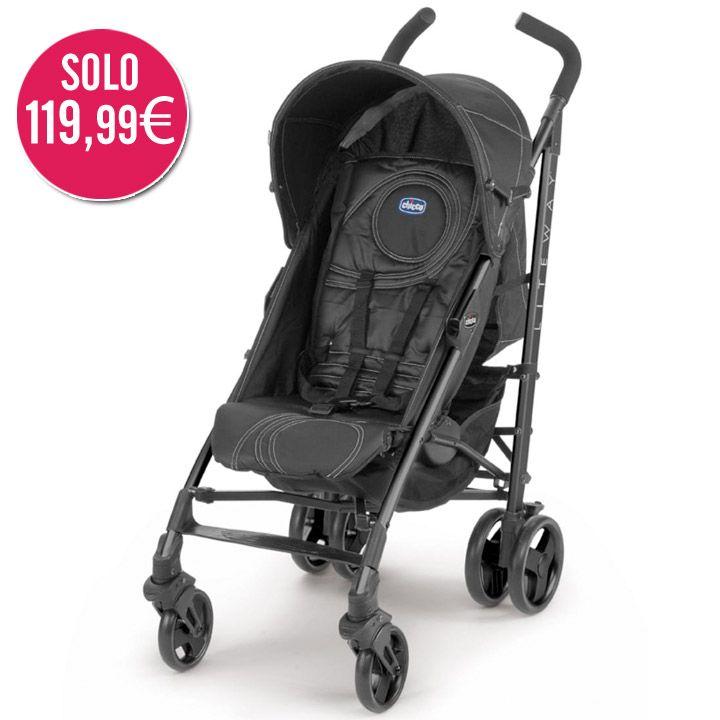 Silla de paseo Lite Way Ombra de Chicco. ¡SOLO 119,99€, AHORRO 24%! #ofertas