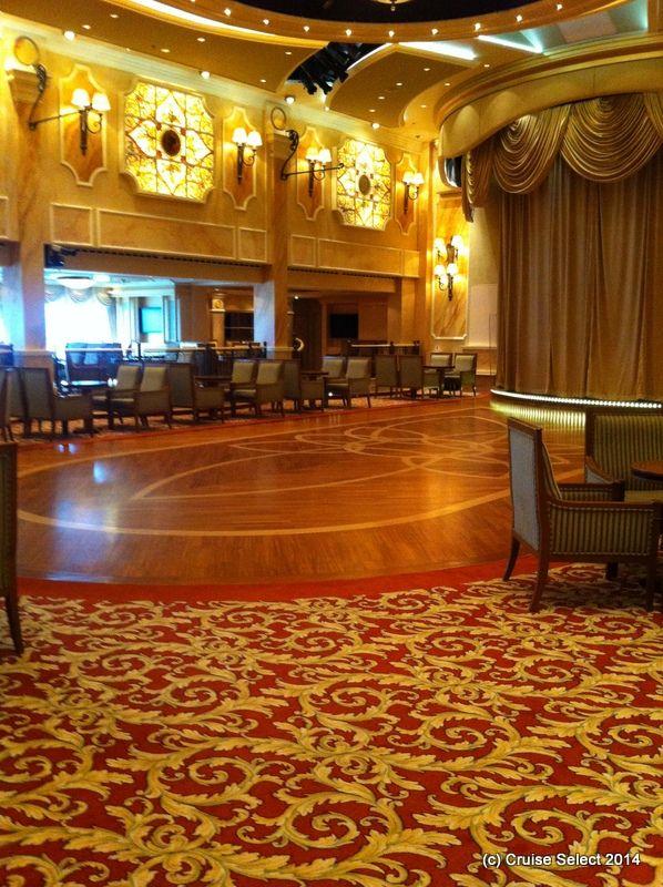 Cunard - Queens room - Aboard Queen Victoria