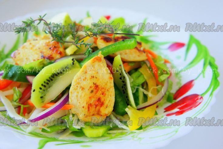 Салат овощной с оливковым маслом калорийность