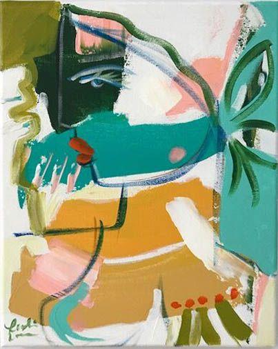 """Original Artwork – """"Daria"""" by Leslie Weaver – 11""""x 14"""""""