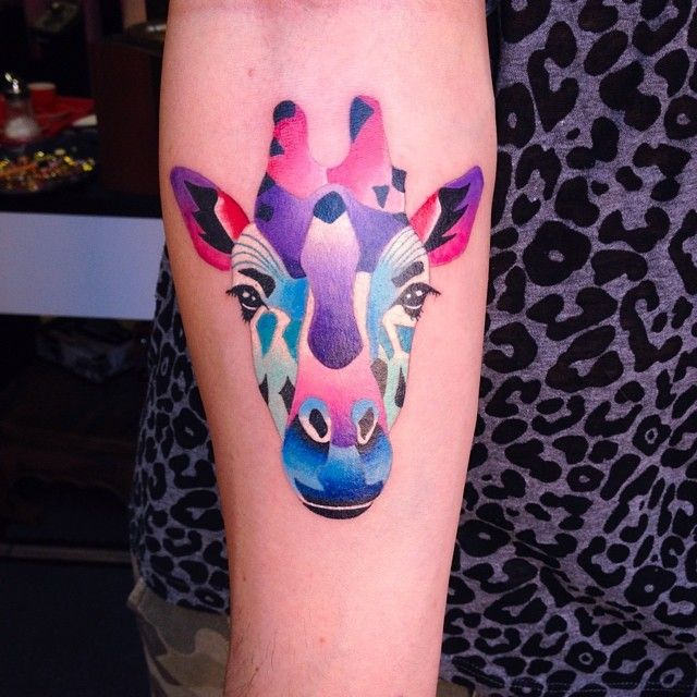 50 elegant giraffe tattoo meaning and designs wild life for 333 tattoo meaning