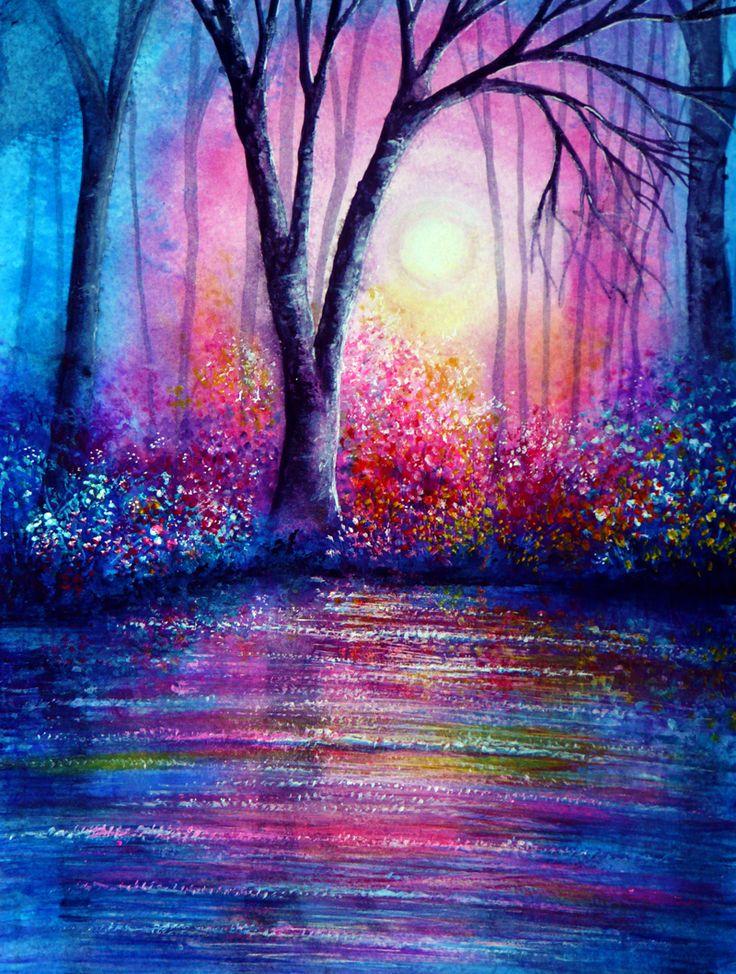 Blue Evening -  Anna Marie Bone