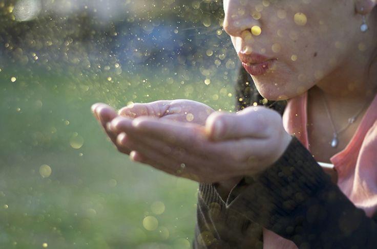 Pioggia dorata - D. Mancini #girl #face