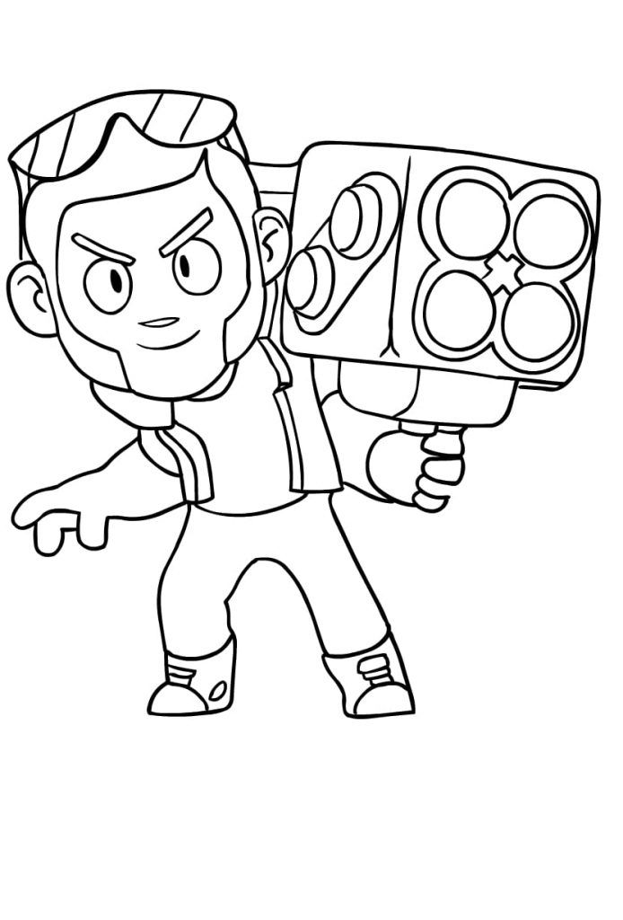 Brawl Stars Ausmalbilder Star Coloring Pages Coloring Pages Brawl