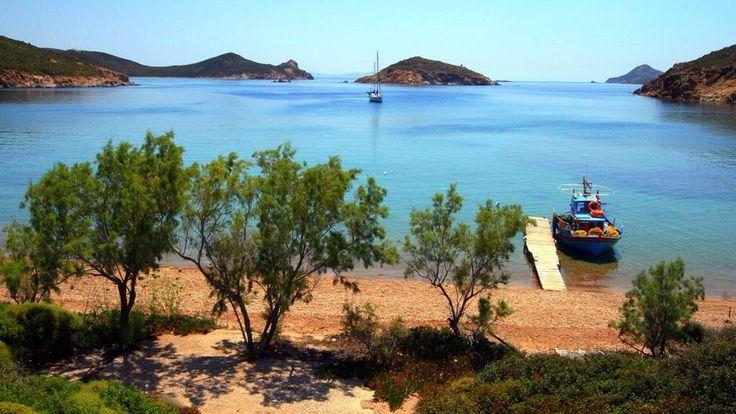 #Patmos synonym of #Harmony | Agriolivado gulf | Photo: @PegkyMarouli | @visitgreecegr