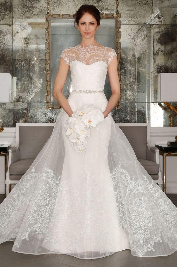 Romona keveza lace wedding dress october 2018  best Estilos De Boda images on Pinterest  Bridal gowns Wedding