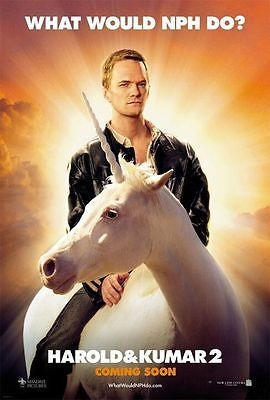 Harold  Kumar 2 (Neil Patrick Harris) DS 27x40 Phony Movie Poster