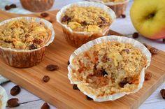 Wie zegt dat gezond bakken niet lekker is, heeft deze appeltaart havermout muffins nog niet geproefd! Een ideaal recept voor een verantwoord tussendoortje.