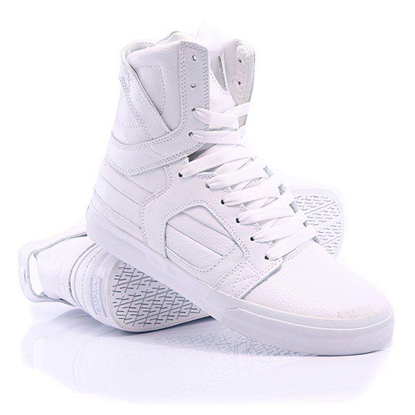 Кроссовки Nike Air Force, высокие, белые