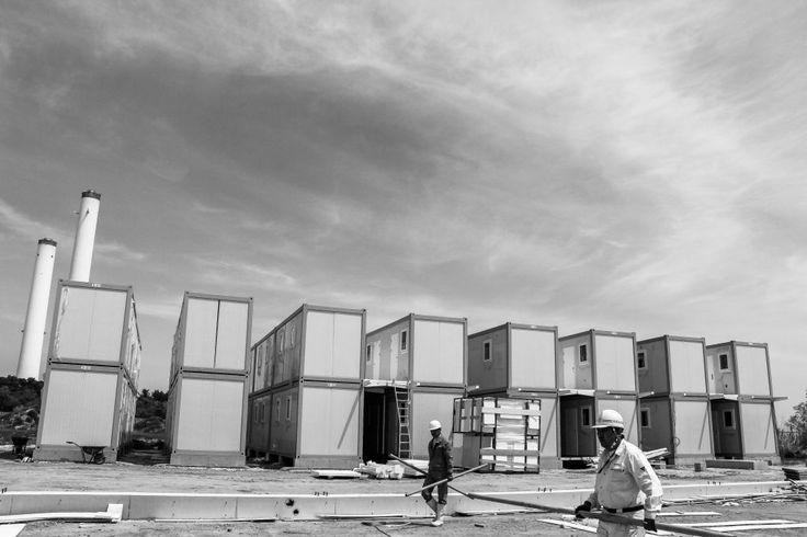Modulares del paquete plano Contenedores como respuesta Desastres de Vivienda