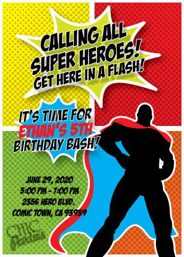 invites: Party Time, Marvel Party, Boys Party, Party Invitations, Birthday Party Themed, Party Idea, Party Gam, Kids Party, Heroes Party
