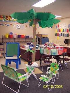 Beach/Tropical Theme ideas for my classroom next year.