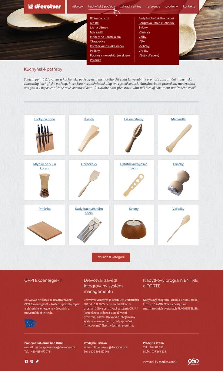 Dřevotvar - Katalog