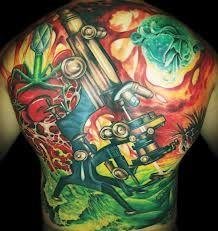 Cool Biology tattoo