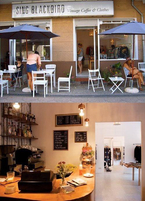 Sing Blackbird, Cafe & shop - Berlin, Germany