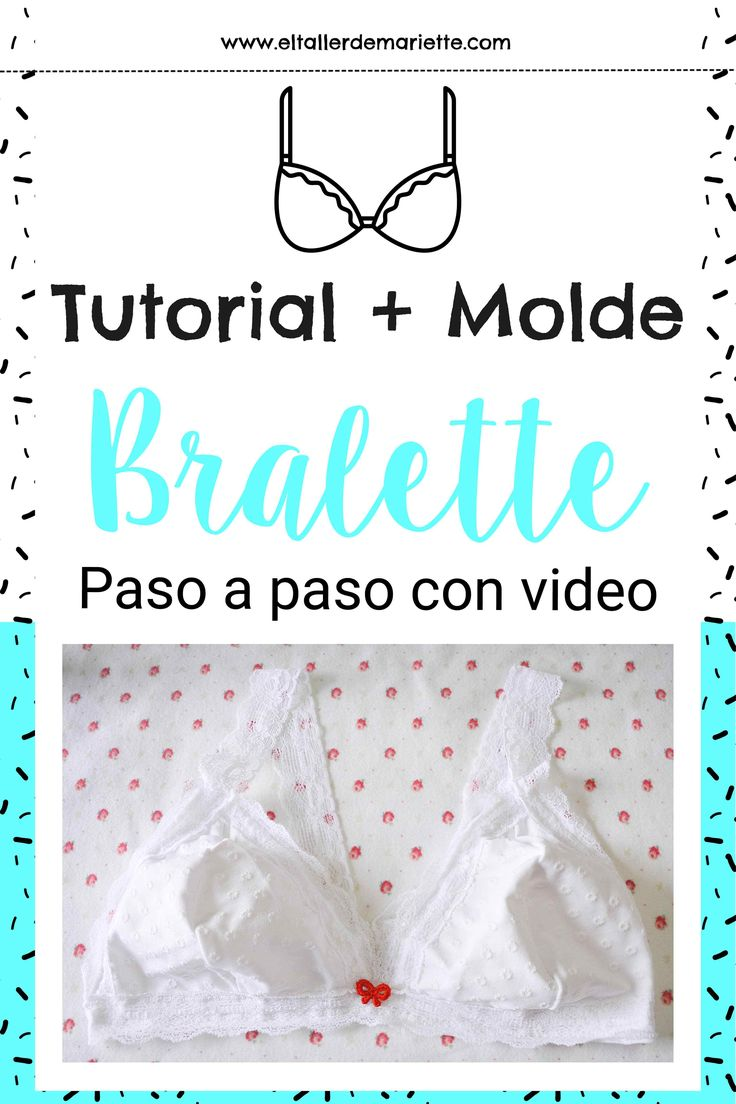 Bralette tutorial