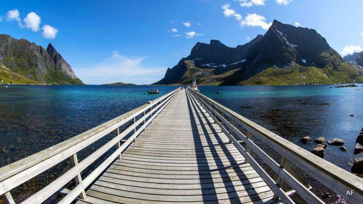 #Postcard from the Lofoten Islands #stunning