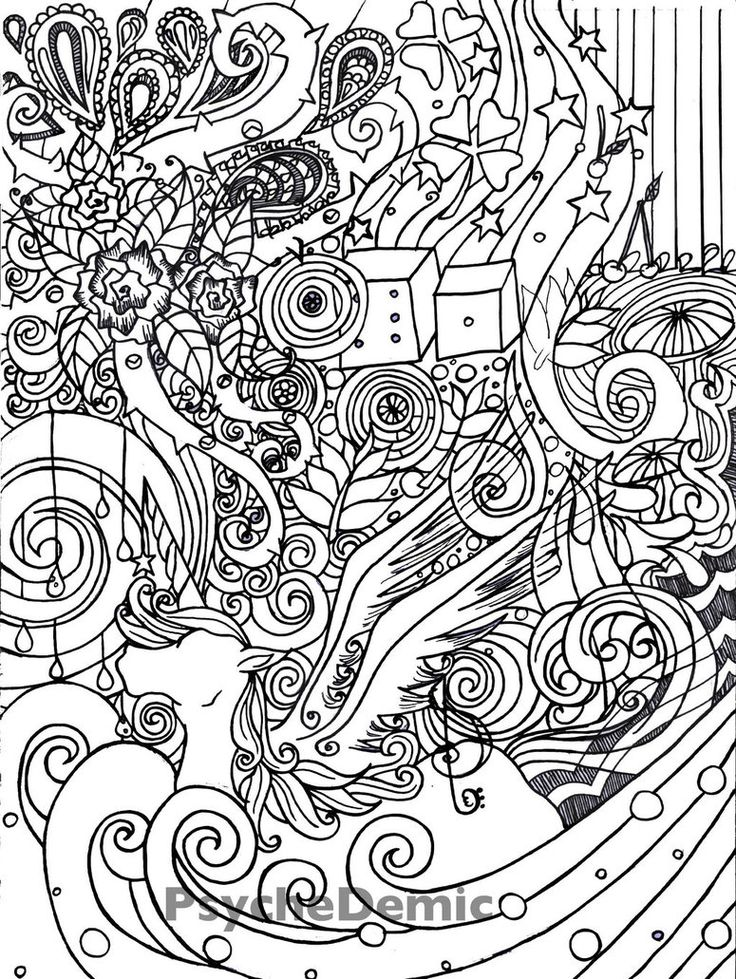 psychedelic coloring book pages - 1000 images about coloring on pinterest