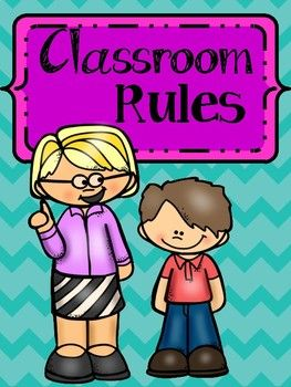 These are some of the most important rules to work with students since class one. Make sure you reinforce these rules every time you can. Post them in your classroom, there are beautiful and so great. You can even use them for the first Bulletin board of the school year.