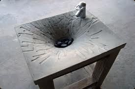 concrete sinks - Google Search: Concrete Art, Concrete Bathroom, Creative Concrete, Concrete Sinks, Google Search, Concrete Stuff, Concrete Ideas, Concrete Design, Concrete Planters