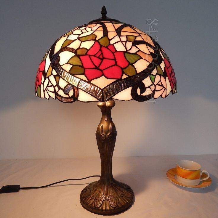 Rose Tiffany Lamp 16S0 82T311