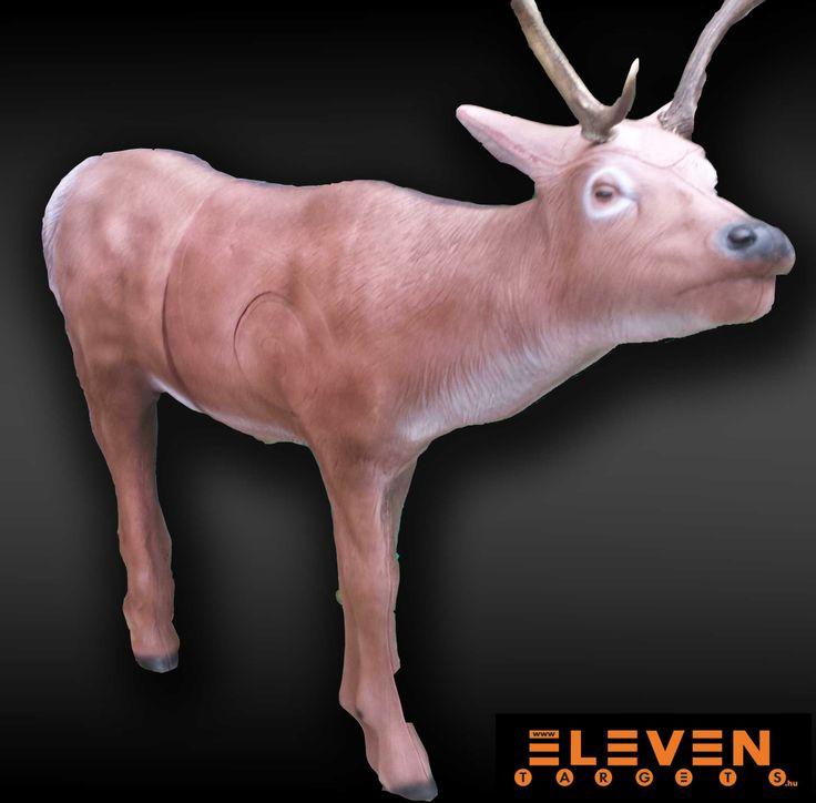 #Eleven 3D Elk. #IFAA category: 1. #Eleven 3D Elk. #IFAA kategória: 1.  #archery #target  http://eleventargets.hu/index.php?action=showpic&fid=833