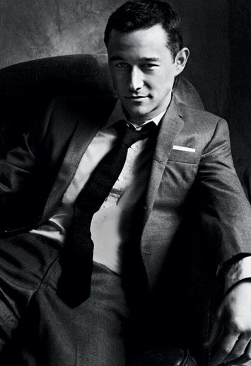 If I could dress like this man does in Inception and 500 Days of Summer everyday I would.