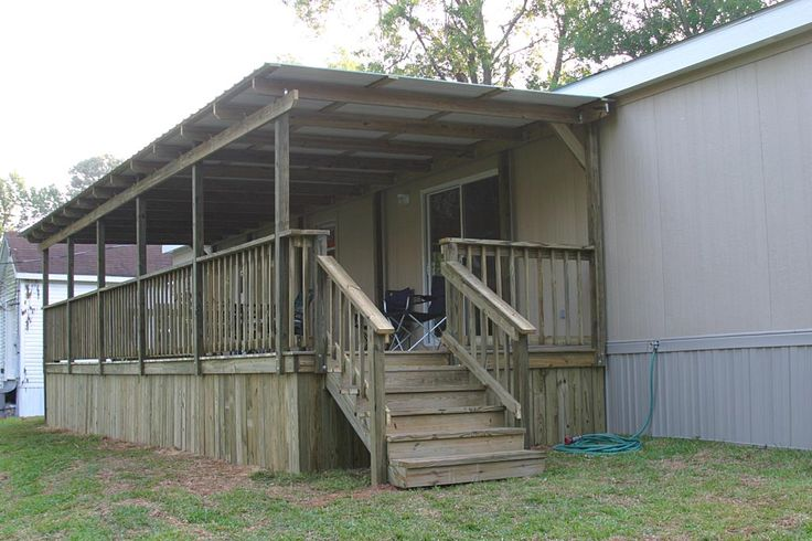 Best 25 Mobile Home Porch Ideas On Pinterest Mobile