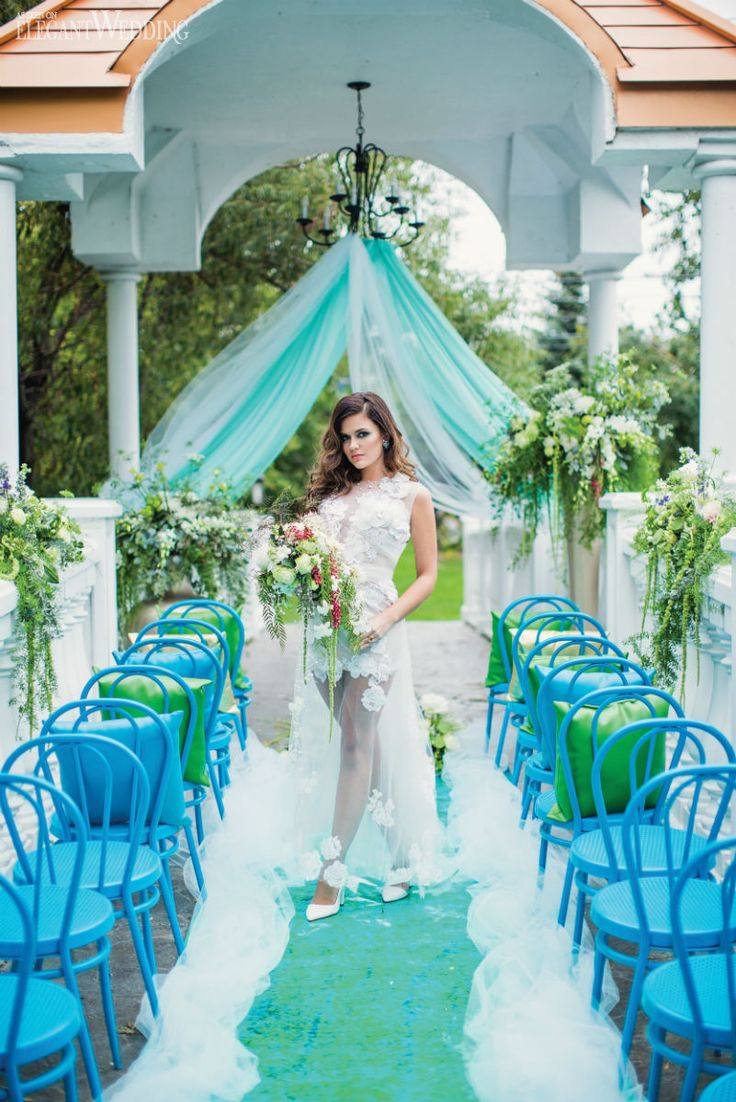 10 images about wedding the aisle altar on pinterest for Ocean themed wedding dress