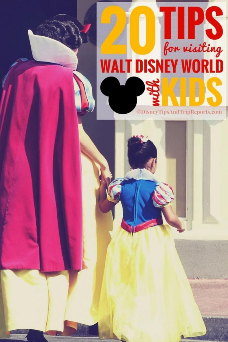 Tips For Visiting Walt Disney World With Kids. A trip to the magic is exciting, but it can also be quite demanding on young children, these tips will be really helpful for planning a Walt Disney World vacation with the little ones.