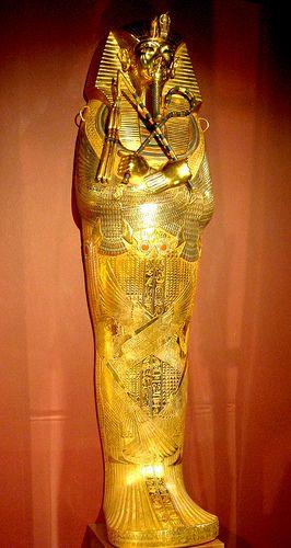 Third coffin of Tutankhamun | Flickr: partage de photos!
